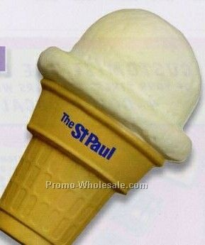 Ice Cream Cone Squeeze Toy