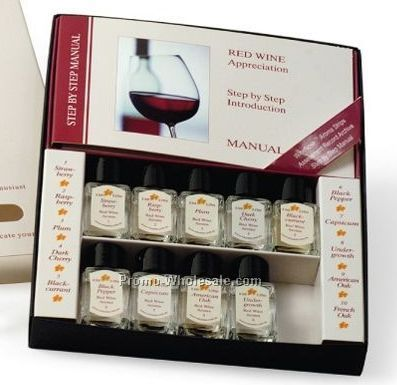 Introduction To Red Wine Appreciation Kit