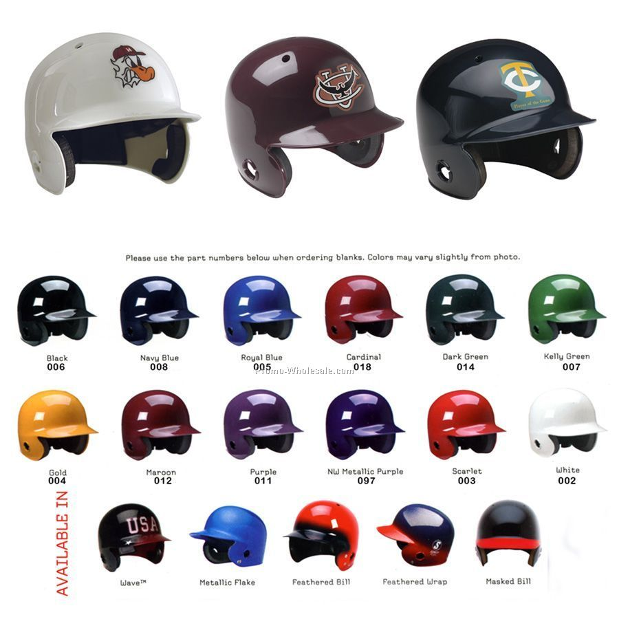 Miniature Baseball / Softball Batters Helmet