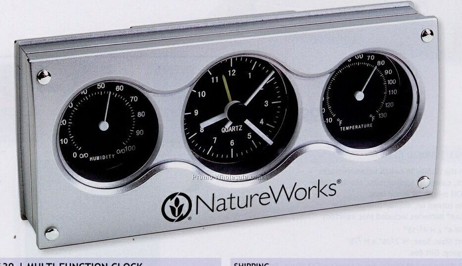 Multi Function Clock (Standard Shipping)