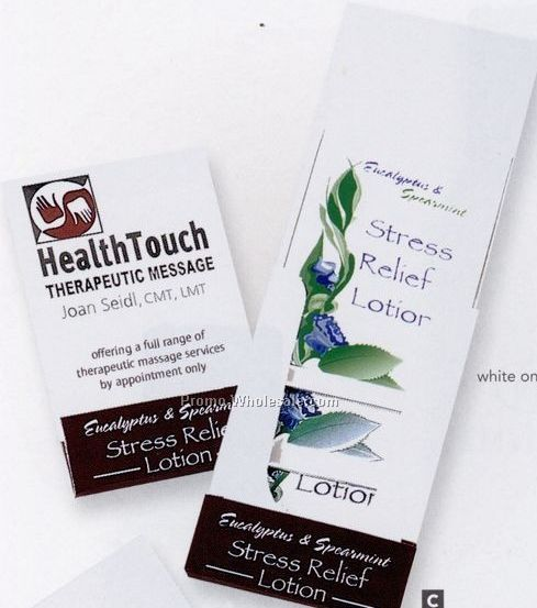 Pillowline Eucalyptus & Spearmint Stress Relief Lotion Pocket Pack