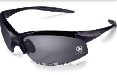 Rad-infinity Silver Frame Safety Glasses W/ Green Mirror Lens
