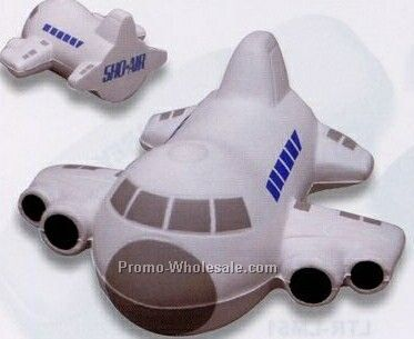 Small Airplane Squeeze Toy