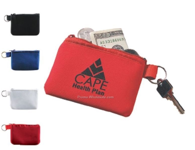 Taft Zip Coin Pouch With Built-in Key Holder (Standard Shipping)