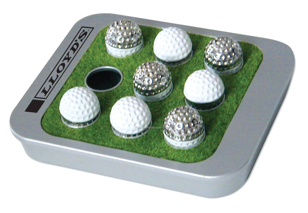 Travel Tic Tac Toe Golf Game Set