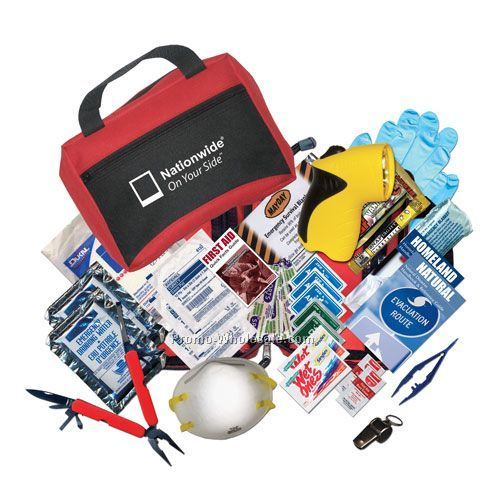 "Urban Survival Disaster Kit 9""x6-1/2"""