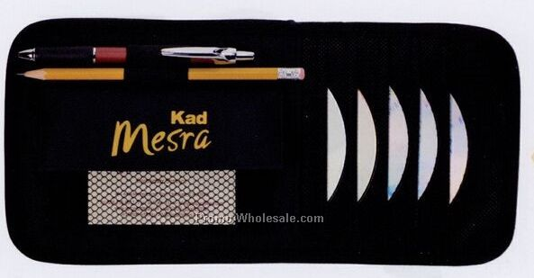 Visor Mate CD Holder/ Holds 6 Cd's - Factory Direct (8-10 Weeks)