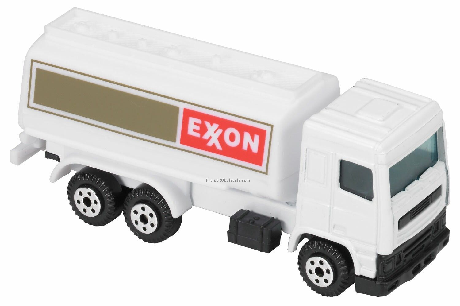 White Fuel Truck Die Cast Mini Vehicles - 3 Day