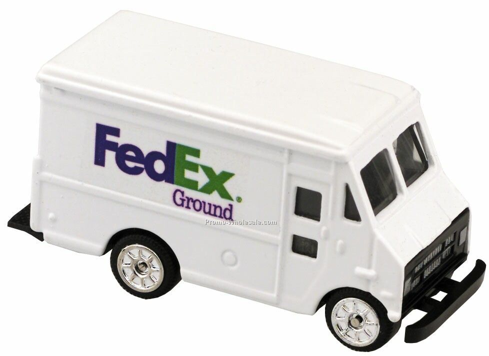 White Panel Truck Die Cast Mini Vehicles - 3 Day