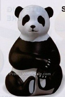 Wild Animals - Sitting Panda Squeeze Toy