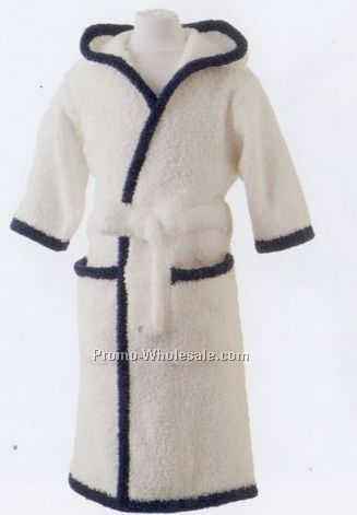 Youth Micro Chenille Hooded Robe - Xs (3/4) S (5/6) M (7/8) L (10/12)