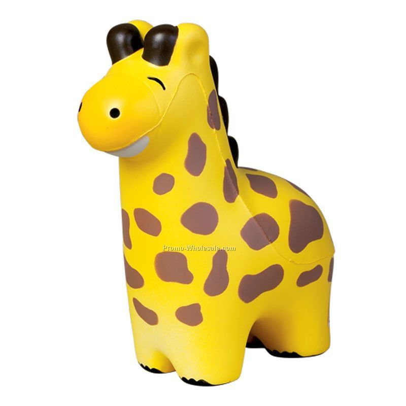 Zoo Animal Giraffe Squeeze Toy