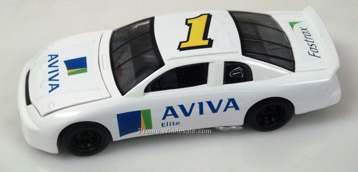 "1/24 Scale Nascar Style Car 8 "" Shown With Full Graphics Package"
