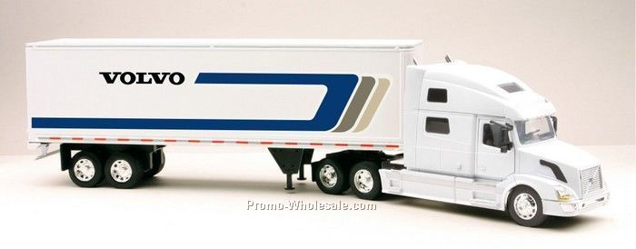 "1:32 Scale 23""x 3.75"" Die Cast Replica Transport Hauler"