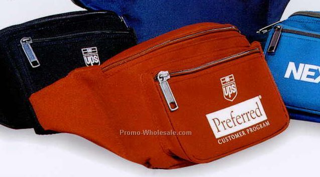 "10""x5-1/2""x4"" Deluxe Fanny Pack (Screened)"