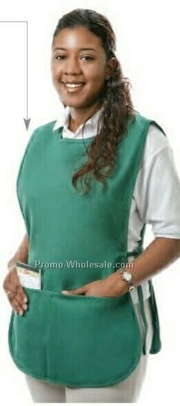 "28""x20"" Poplin Cobbler Apron (Hunter Green)"