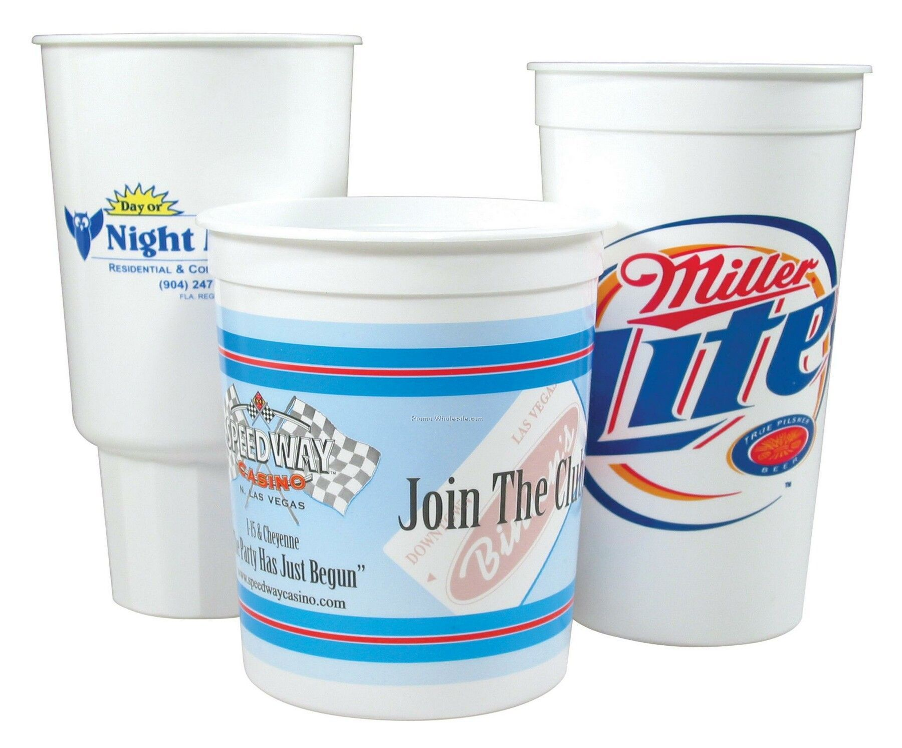 32 Oz. Car Cup (Offset)