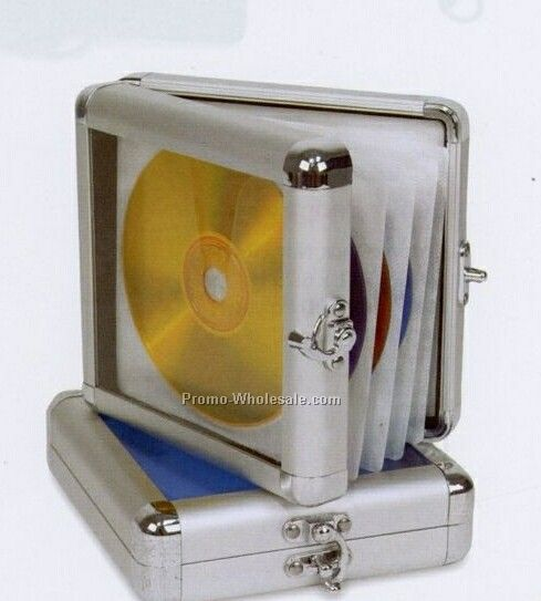 "6-1/4""x1-1/2""x5-3/4"" Platinum 24 CD/DVD Case"