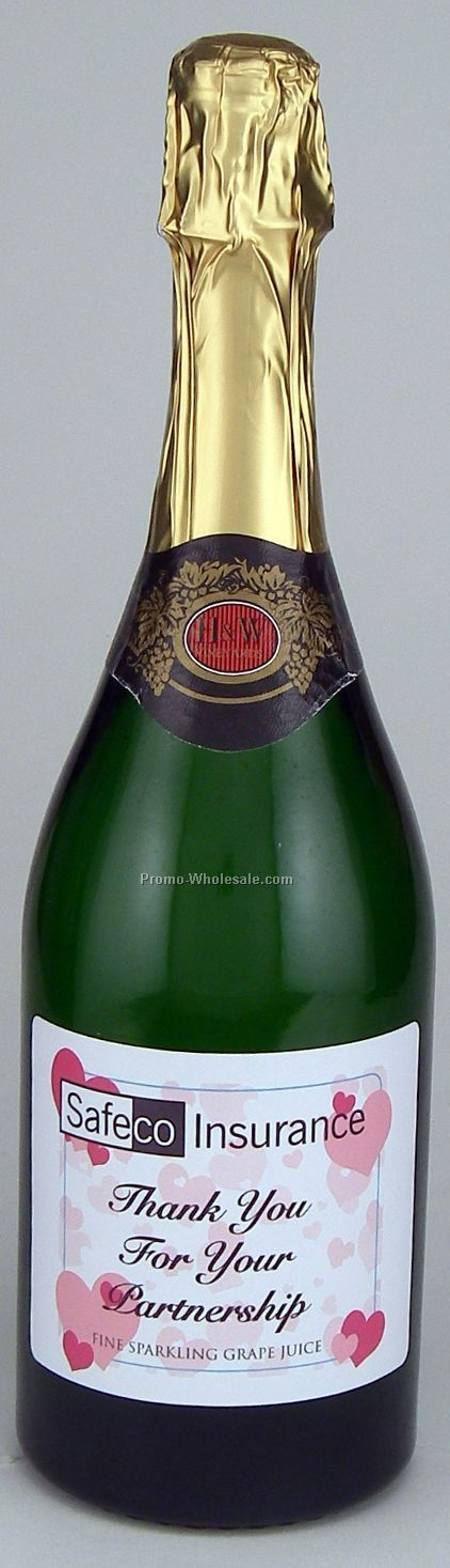 750 Ml Custom Labeled Non-alcoholic Sparkling Grape Juice Woodbridge, Ca