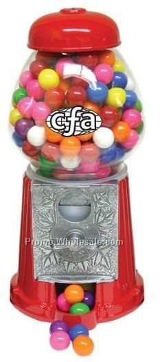 "9"" Old Fashion Gumball Machine W/ Gumballs (2 Day Service)"