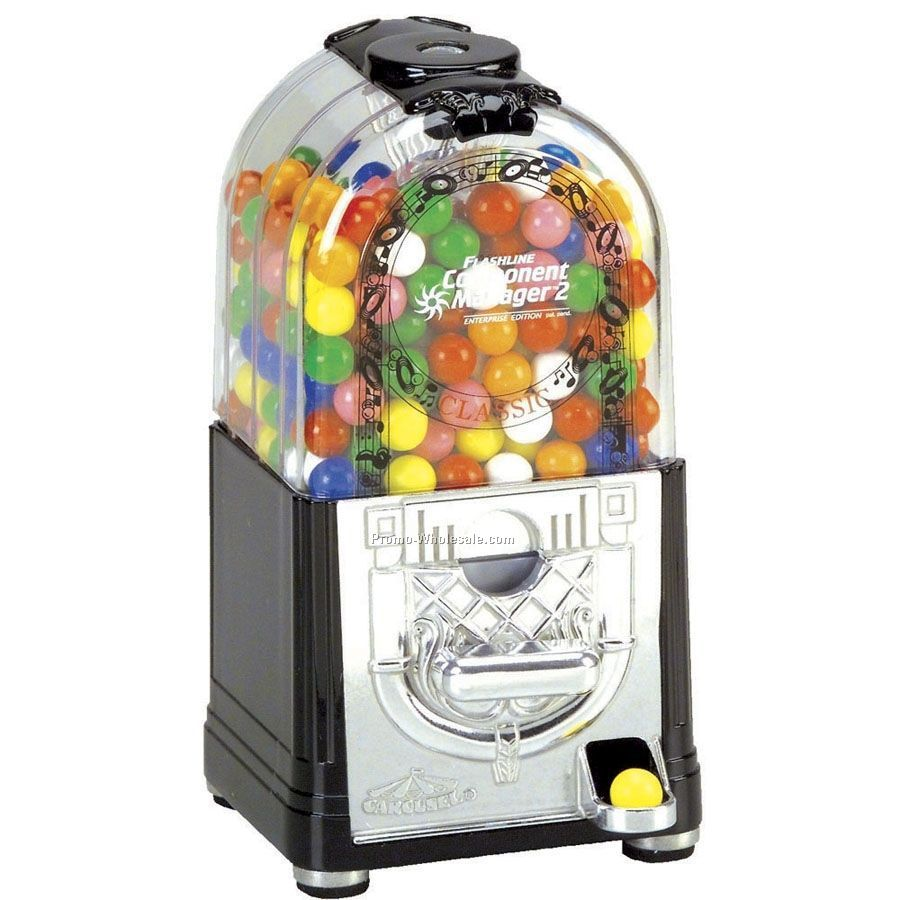 "9-1/2"" Jukebox Gumball Machine"
