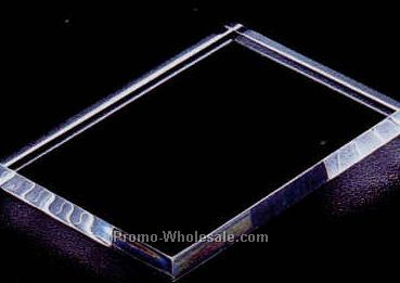 "Acrylic Specialty Base (Thin Economy) 1/4""x4""x4"""