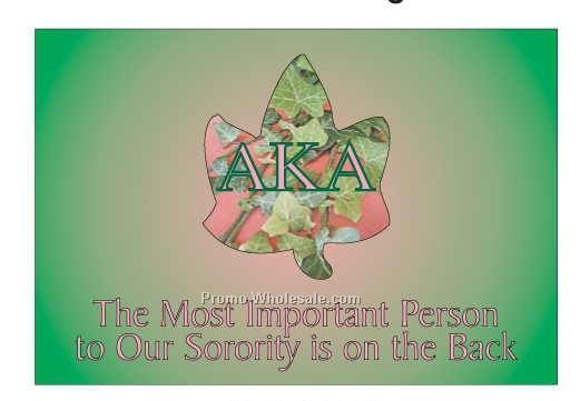 "Alpha Kappa Alpha Sorority Ivy Photo Hand Mirror (3-1/8""x2-1/8"")"