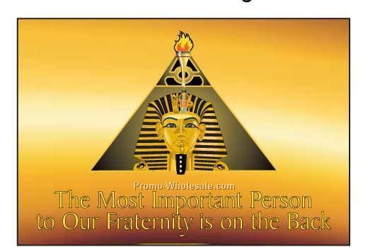 "Alpha Phi Alpha Fraternity Pyramid Photo Hand Mirror (3-1/8""x2-1/8"")"