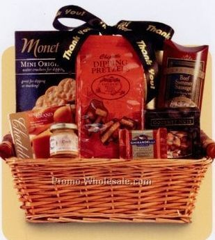 Business Classics Thank You Gift Basket