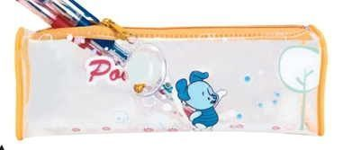 Clear Pencil/ Accessory Pouch