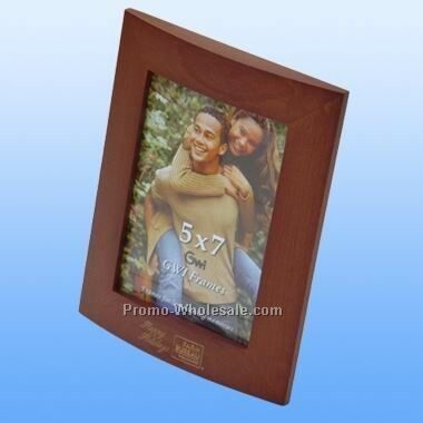 "Deluxe Photo Wooden Photo Frame 4"" X 6"" (Screened)"