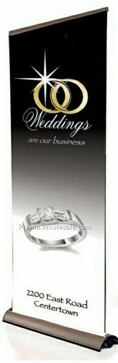 Deluxe Retractor Banner Stand (2 Sided)