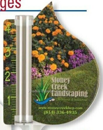 Dew Drop Rain Gauge (Full Color)