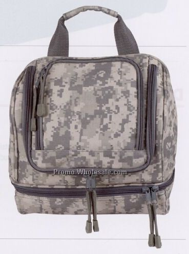 Digital Camo Travel Kit W/ Hanging Hook (Embroidery)