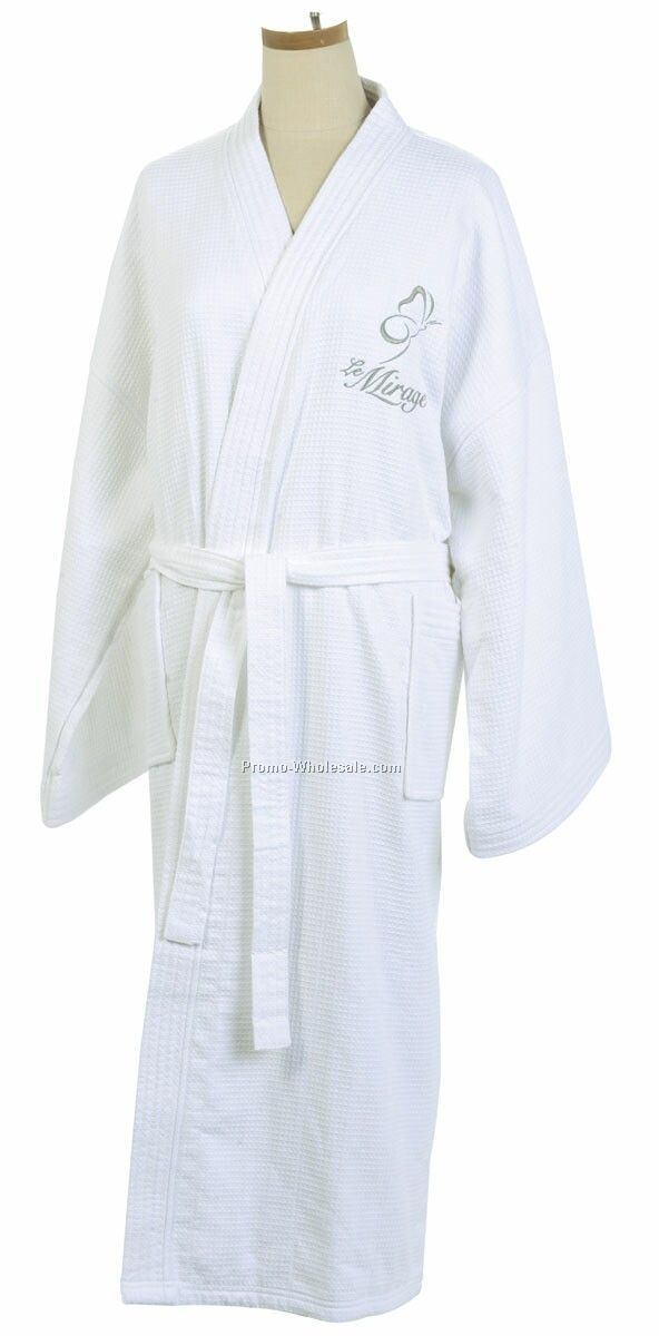 Double Layer Bathrobe (Embroidered)