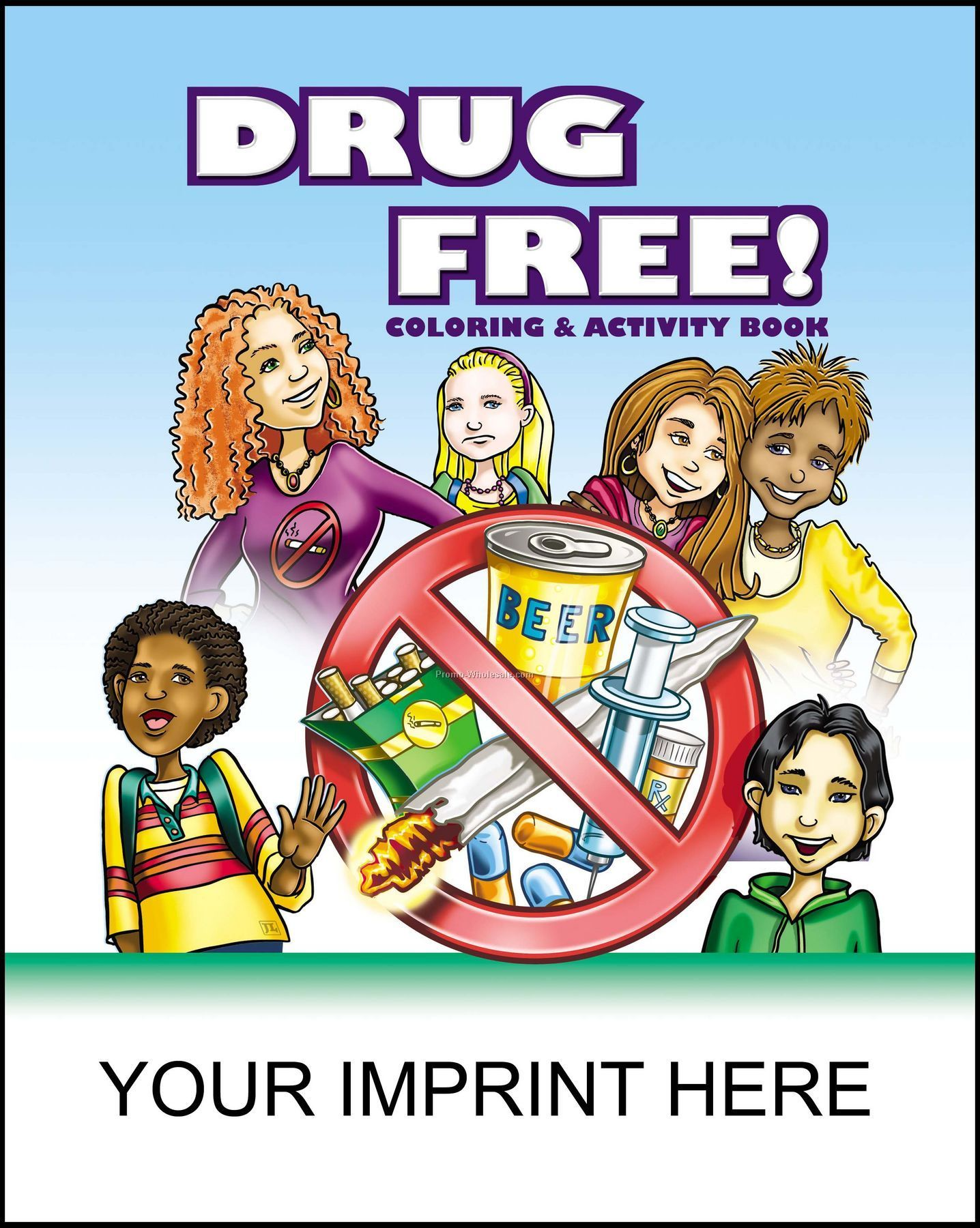 Drug Free Coloring & Activity
