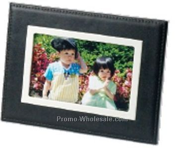 "Executive Series 4""x6"" Leather Photo Frame"