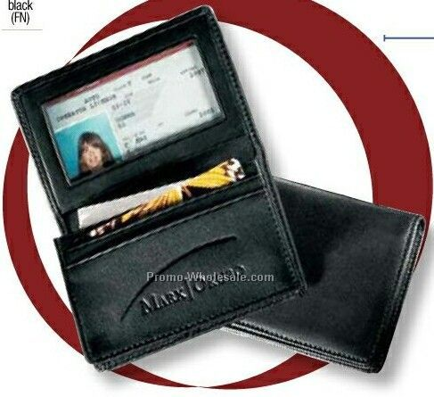 Florentine Napa Leather Deluxe Gusseted Business Card Case