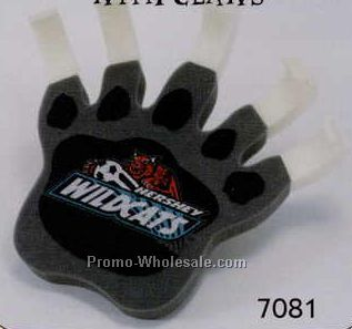 Foam Paw Cheering Mitt W/ Claws