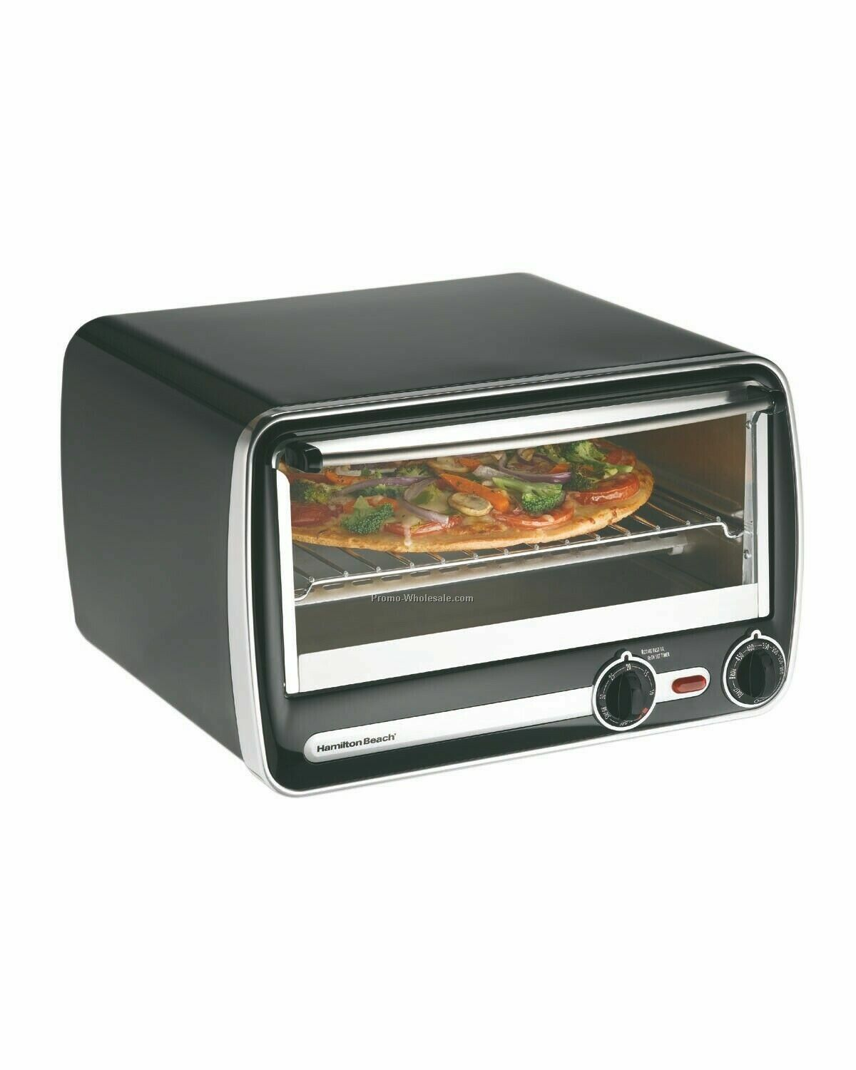 "Hamilton Beach 6 Slice, 12"" Pizza To/B Non-stick"