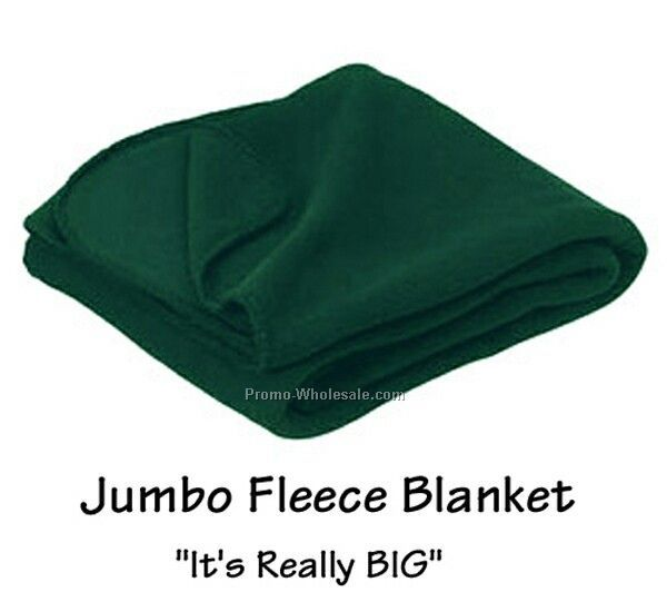 Jumbo Fleece Blanket