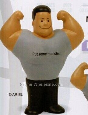 Muscle Man Squeeze Toy