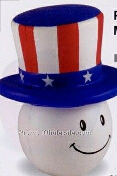 Patriotic Mad Cap Squeeze Toy