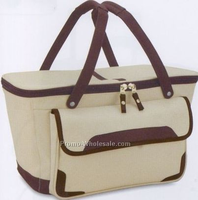 Polyester Picnic Cooler (1 Color)
