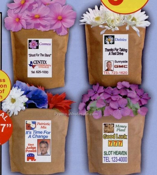 Red, White & Blue Mix Complete Bags That Bloom