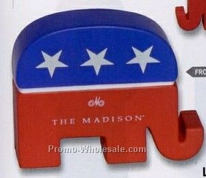 Republican Elephant Squeeze Toy