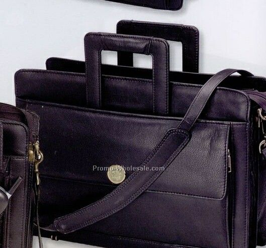 Soft Nappa Leather Attache Case