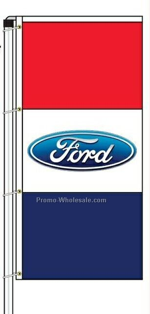 Stock El Supremo Hardware And Pole For 3-1/2'x7-1/2' Flag