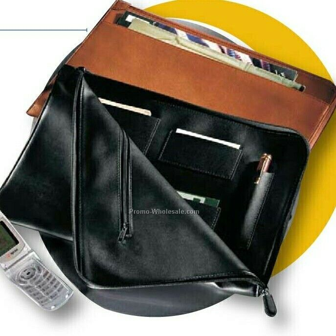 Synthetic Leather Envelope Portfolio