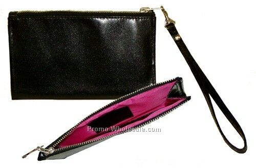 "Synthetic Leather Handbag (7-1/2""x5"")"